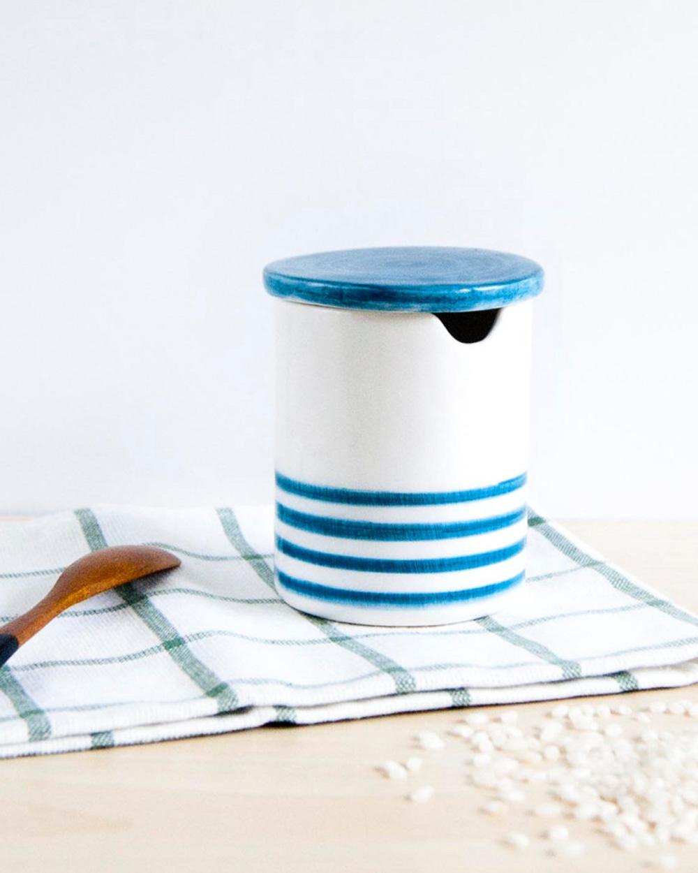 pot à lait céramique noe marin