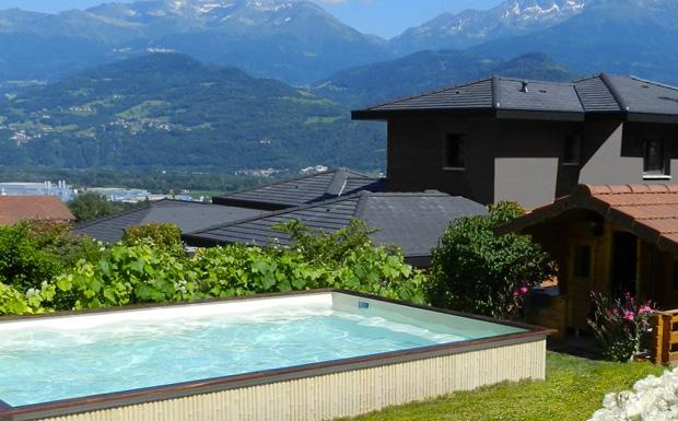 Une piscine en b ton avec caron piscines shake my blog for Budget piscine beton