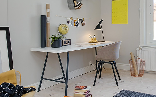 S lection de bureaux la d co scandinave shake my blog for Deco bureau scandinave