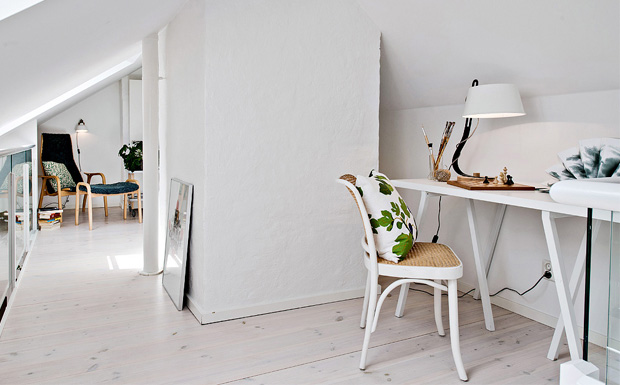 S lection de bureaux la d co scandinave shake my blog for Decorer un bureau professionnel