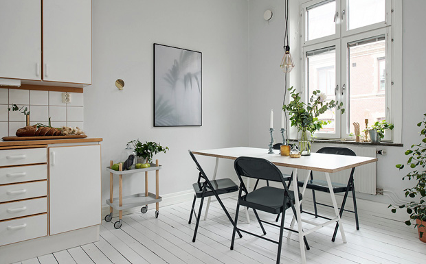 s lection de cuisines la d co scandinave shake my blog. Black Bedroom Furniture Sets. Home Design Ideas