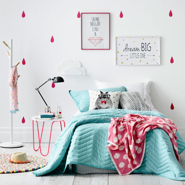 des chambres color es pour les enfants shake my blog. Black Bedroom Furniture Sets. Home Design Ideas