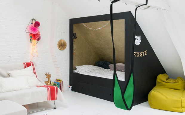 une chambre d 39 enfant graphique et color e shake my blog. Black Bedroom Furniture Sets. Home Design Ideas