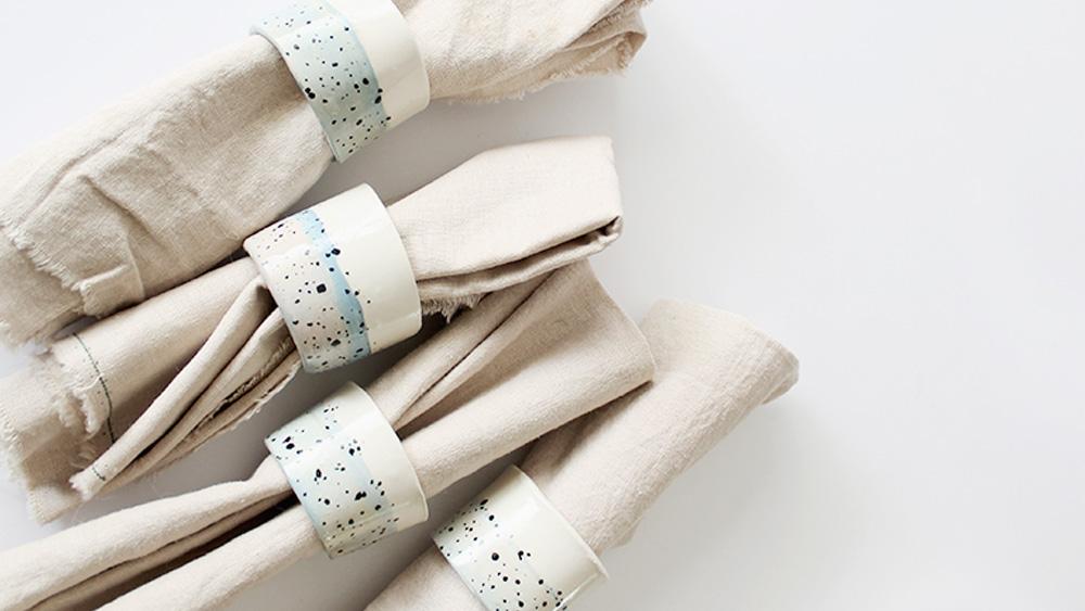 rond serviette diy