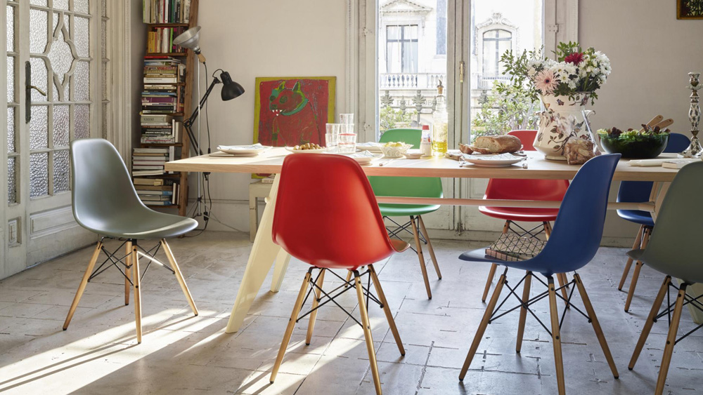 chaise dsw rouge