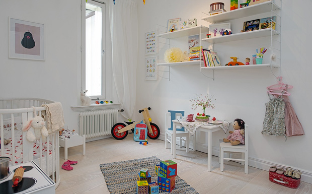s lection de chambres d 39 enfant scandinaves shake my blog. Black Bedroom Furniture Sets. Home Design Ideas