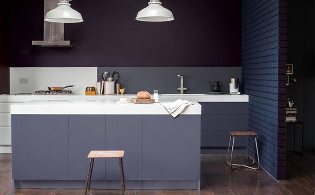 Peindre une cuisine en m lamin en gris shake my blog for Peindre sur melamine