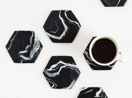 shake my blog diy sous verre. Black Bedroom Furniture Sets. Home Design Ideas