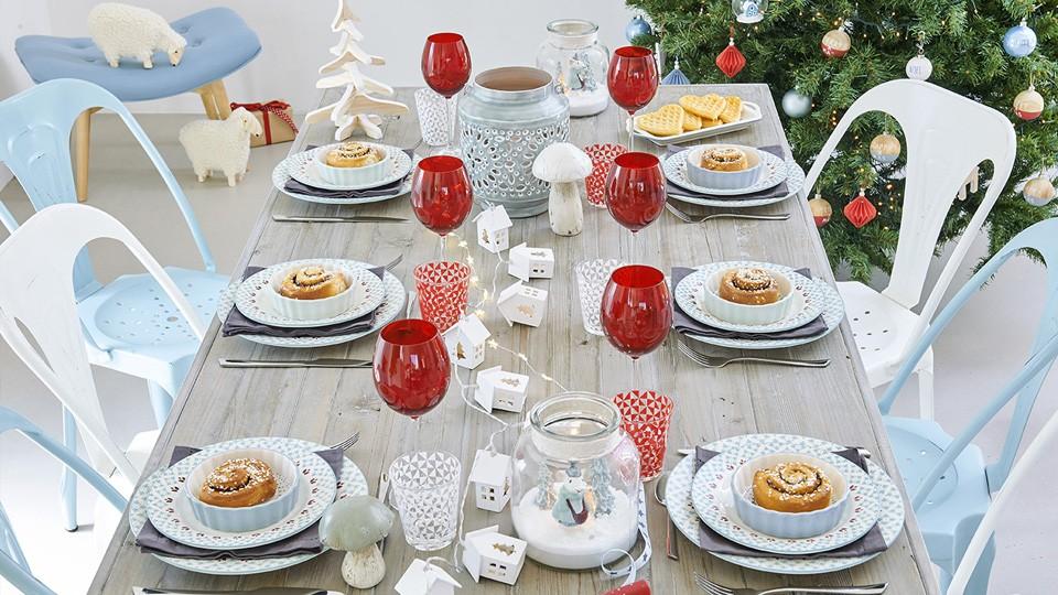 Decoration Table Noel Maison Du Monde