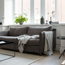 deco scandinave contemporaine noir blanc