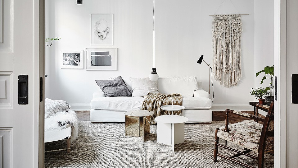 une d co en blanc et bois shake my blog. Black Bedroom Furniture Sets. Home Design Ideas