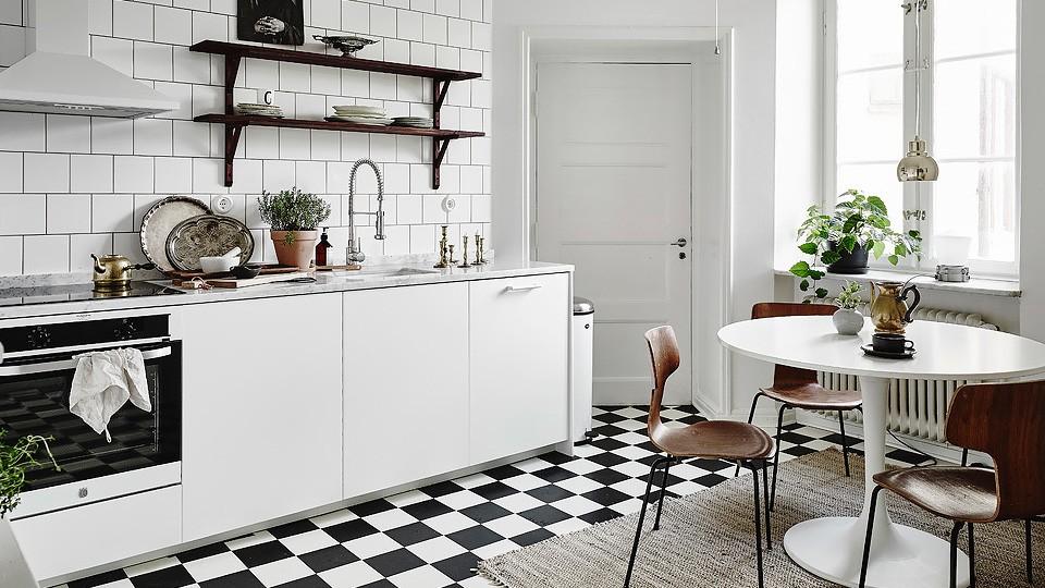 deco appartement bois blanc