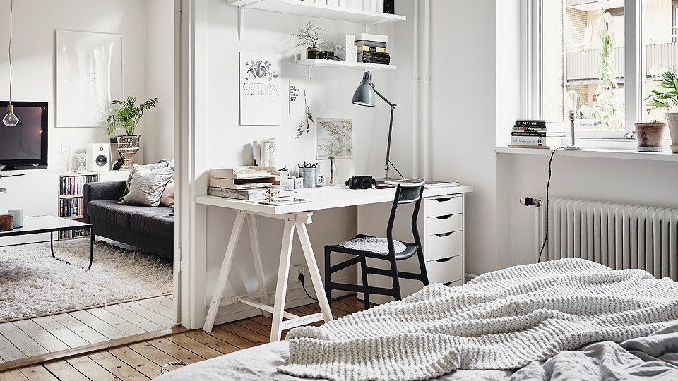 d co scandinave et briques rouges shake my blog. Black Bedroom Furniture Sets. Home Design Ideas