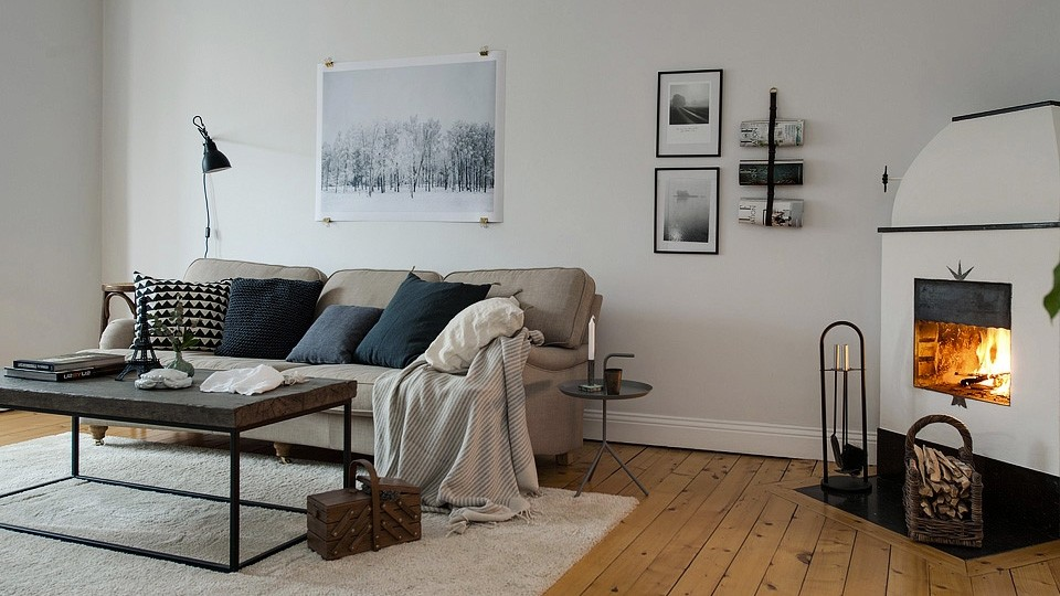 une d co scandinave et lumineuse shake my blog. Black Bedroom Furniture Sets. Home Design Ideas