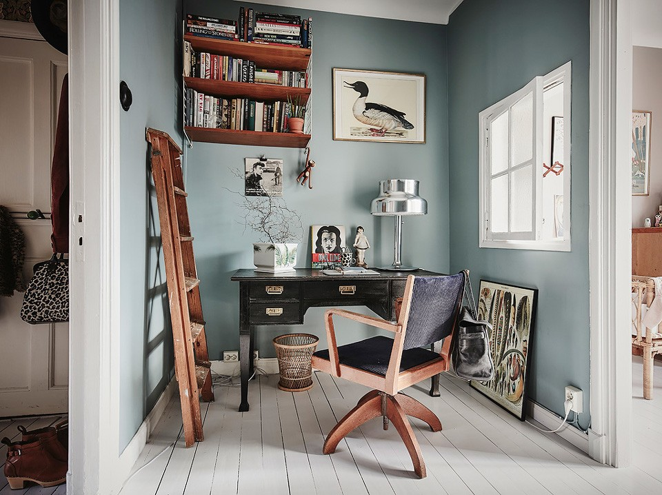 Favorit La déco d'un bureau scandinave | Shake My Blog VF35