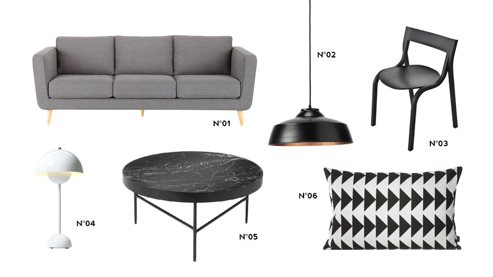 deco scandinave contemporaine