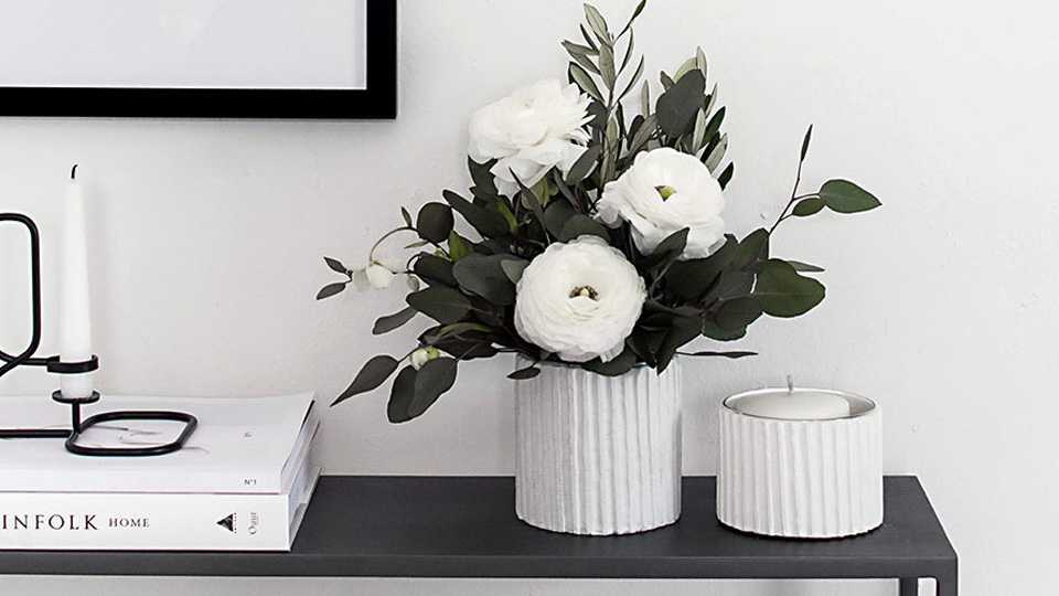 vase texture diy