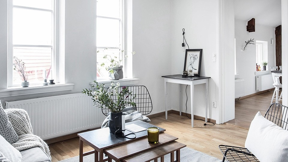 une d co scandinave en blanc et bois shake my blog. Black Bedroom Furniture Sets. Home Design Ideas