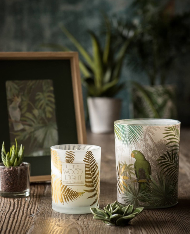deco urban jungle maisons du monde bougie