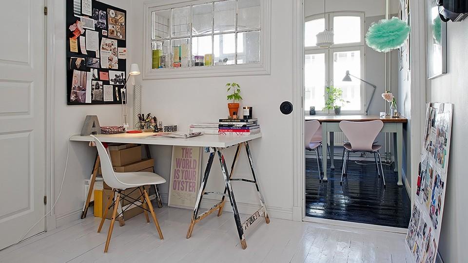 Pour découvrir encore plus de bureaux à l'ambiance scandinave ...