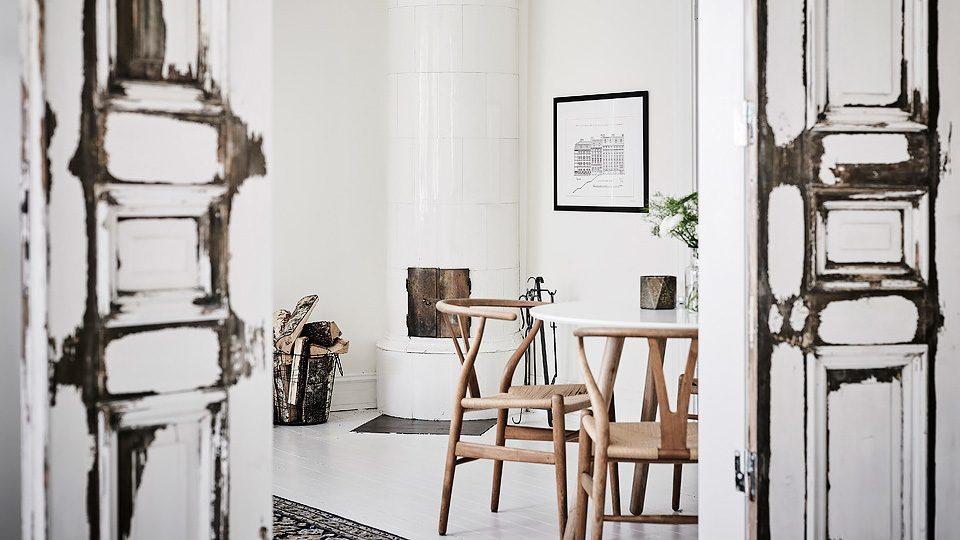 deco scandinave blanc bois