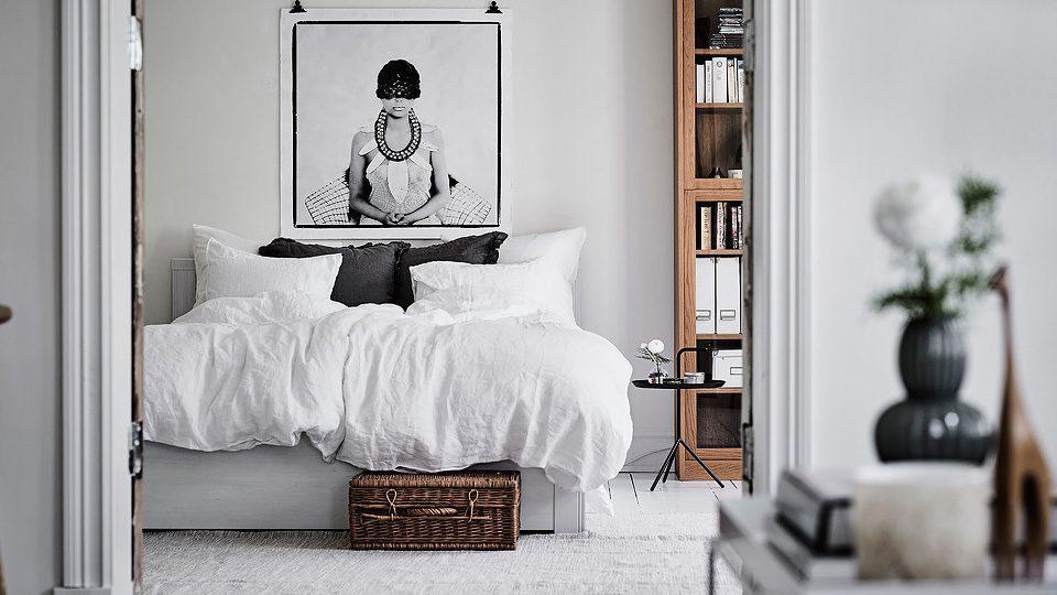 une d co scandinave en blanc et bois shake my blog. Black Bedroom Furniture Sets. Home Design Ideas