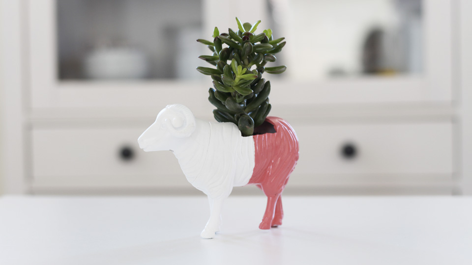diy pot animal