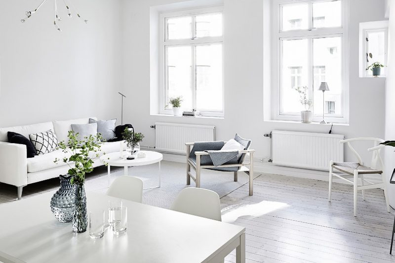 shake my blog une d co scandinave en blanc et bois. Black Bedroom Furniture Sets. Home Design Ideas