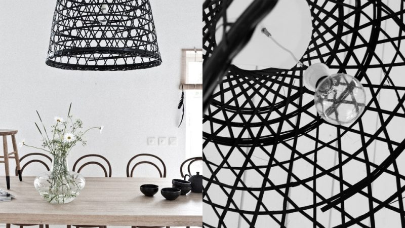 transformer un panier ikea en suspension shake my blog. Black Bedroom Furniture Sets. Home Design Ideas