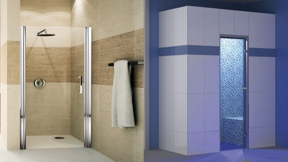 Une salle de bain design avec au fil du bain shake my blog for Salle de bain style hammam