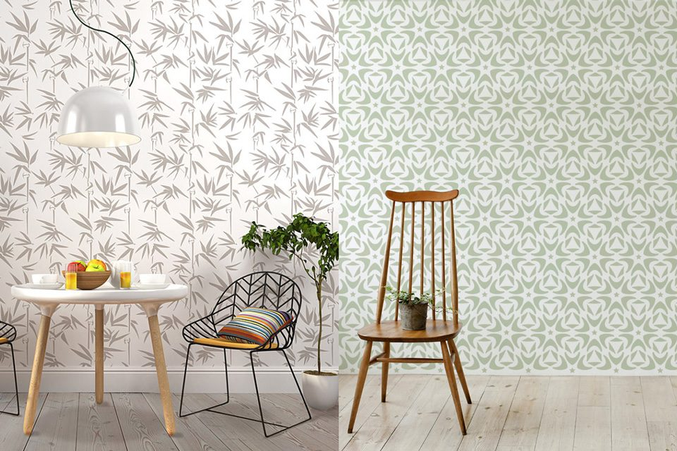 Personnalisez vos murs avec stencilit shake my blog - Stencil adesivi per mobili ...