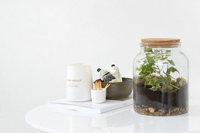 un terrarium suspendu diy shake my blog. Black Bedroom Furniture Sets. Home Design Ideas