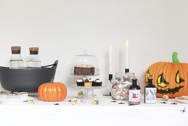 deco table halloween