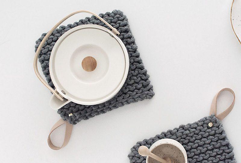dessous de plat tricot diy