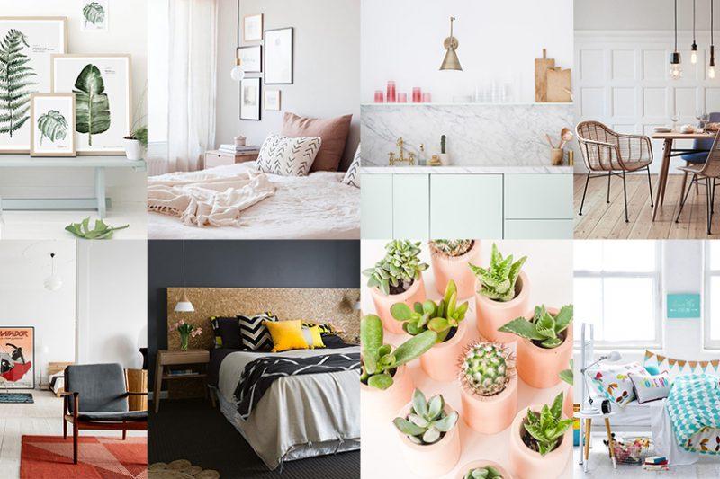 Une d co scandinave contemporaine en noir et blanc shake for Appartement deco diy