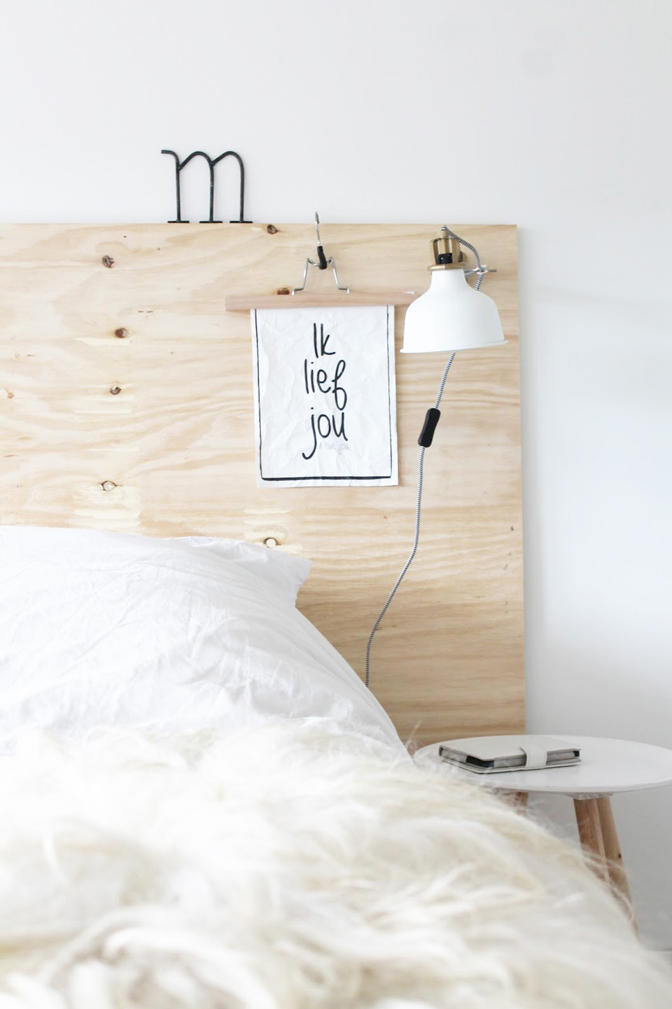 8 id es diy pour la d co de votre chambre shake my blog. Black Bedroom Furniture Sets. Home Design Ideas
