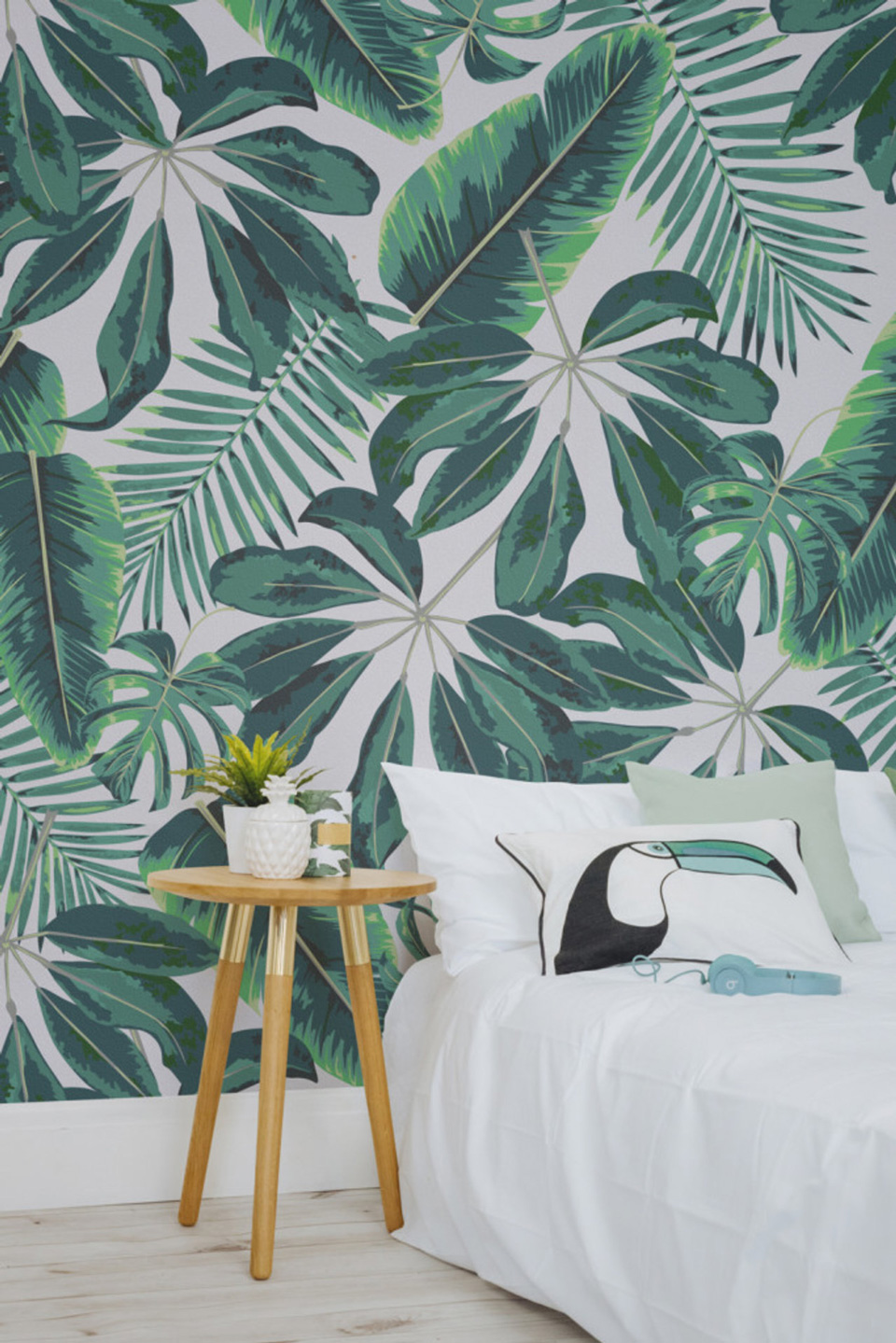 le papier peint tropical pour d corer votre int rieur. Black Bedroom Furniture Sets. Home Design Ideas
