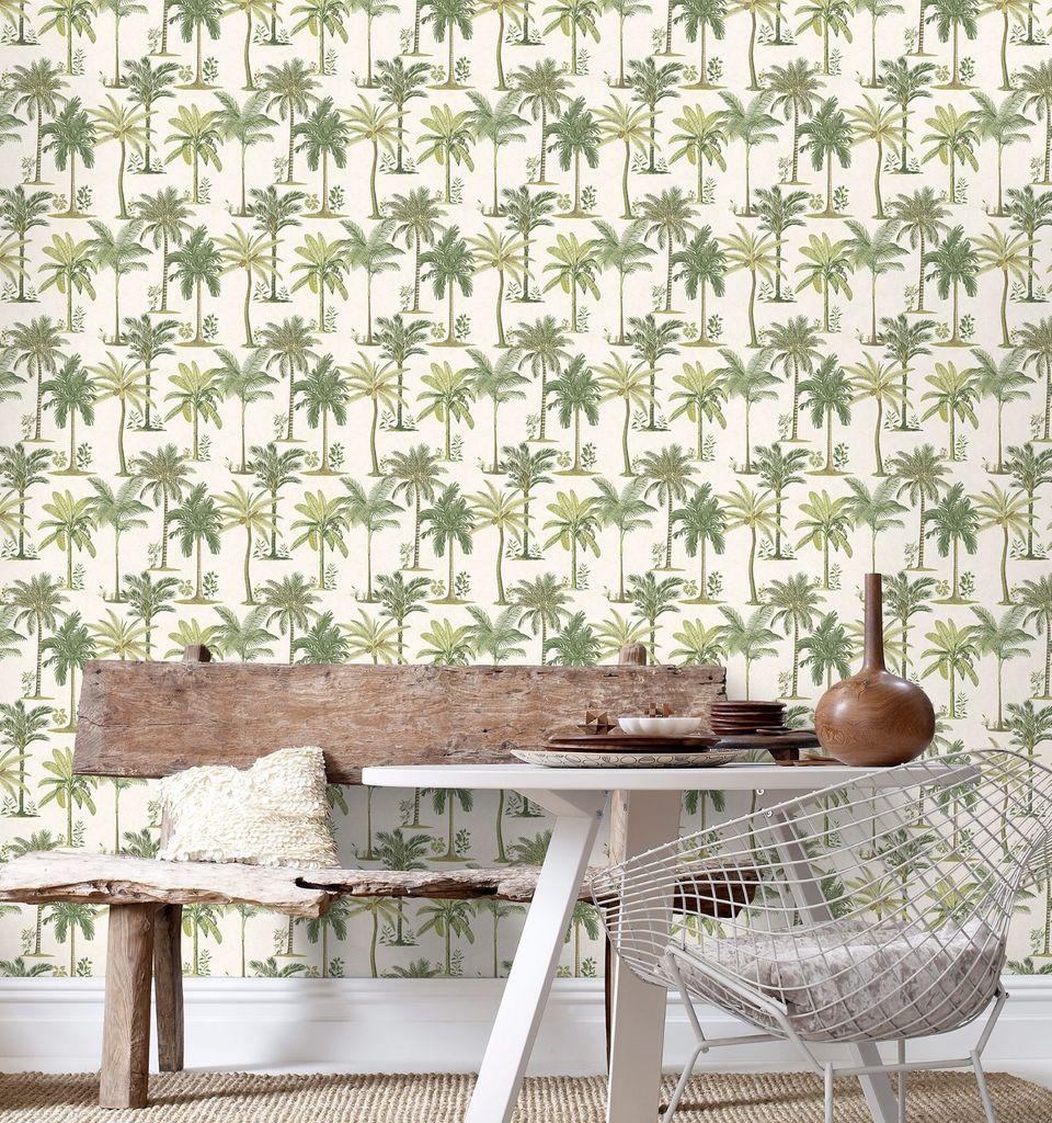 Le papier peint tropical pour d corer votre int rieur for Modele deco papier peint salle a manger
