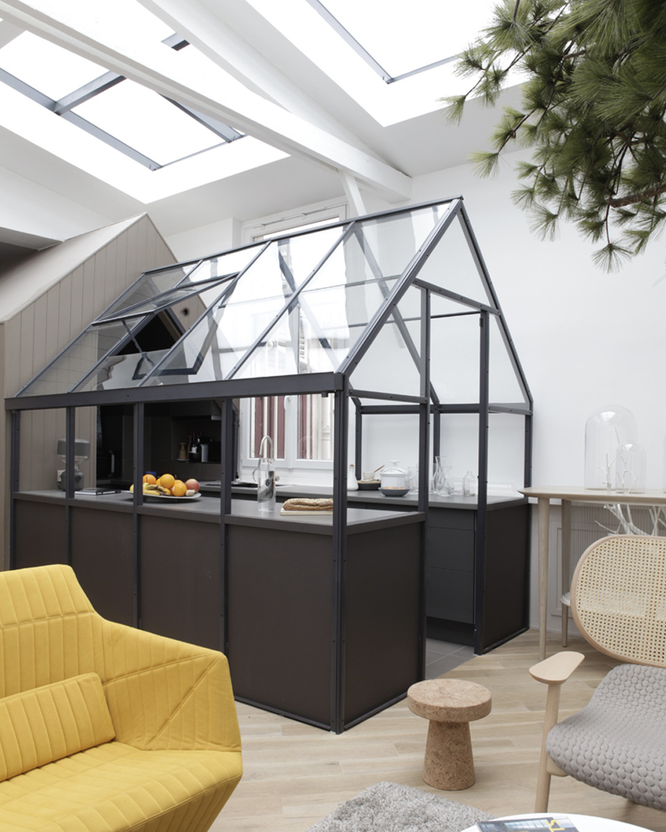 Cuisine verriere atelier beautiful installer une cloison for Verriere atelier cuisine