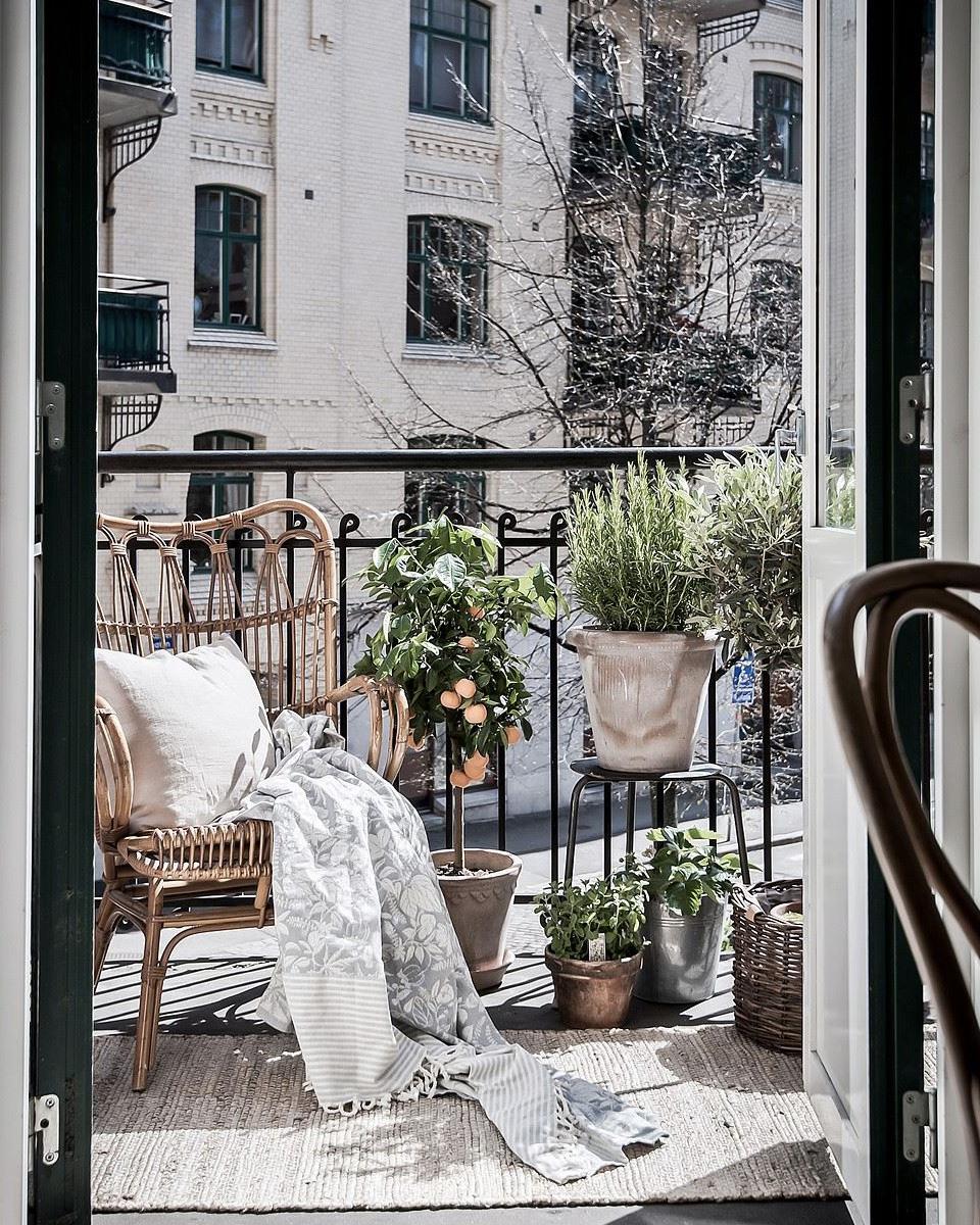 idée deco balcon