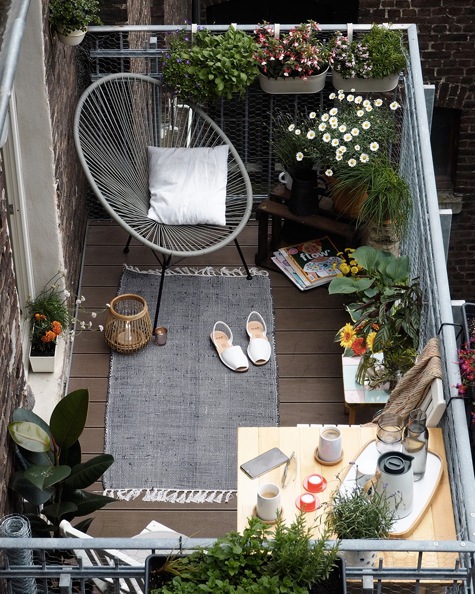 Des id es d co pour votre balcon shake my blog for Decoration balcon terrasse appartement