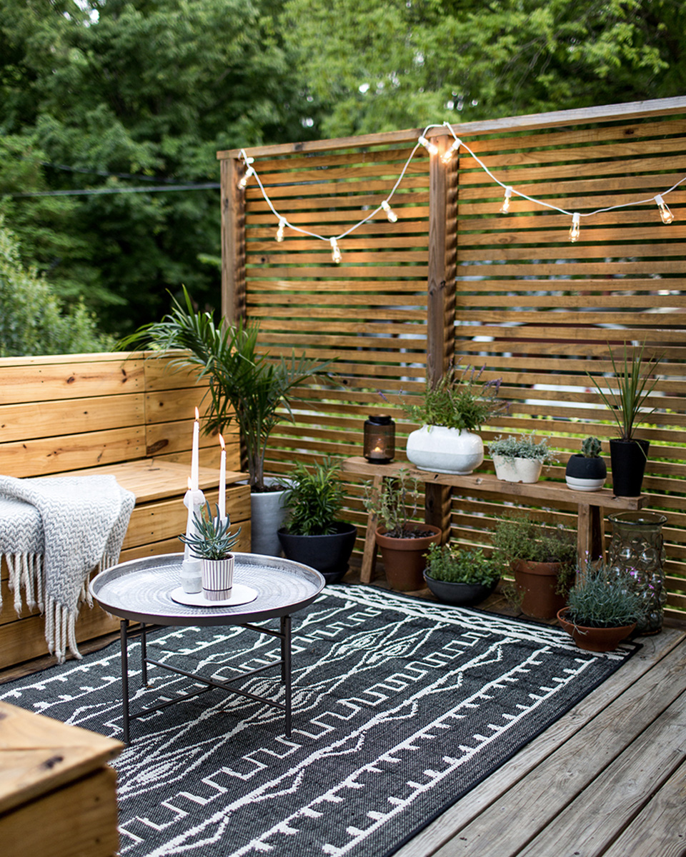 Des id es d co pour votre balcon shake my blog - Idee terrasse exterieure contemporaine ...