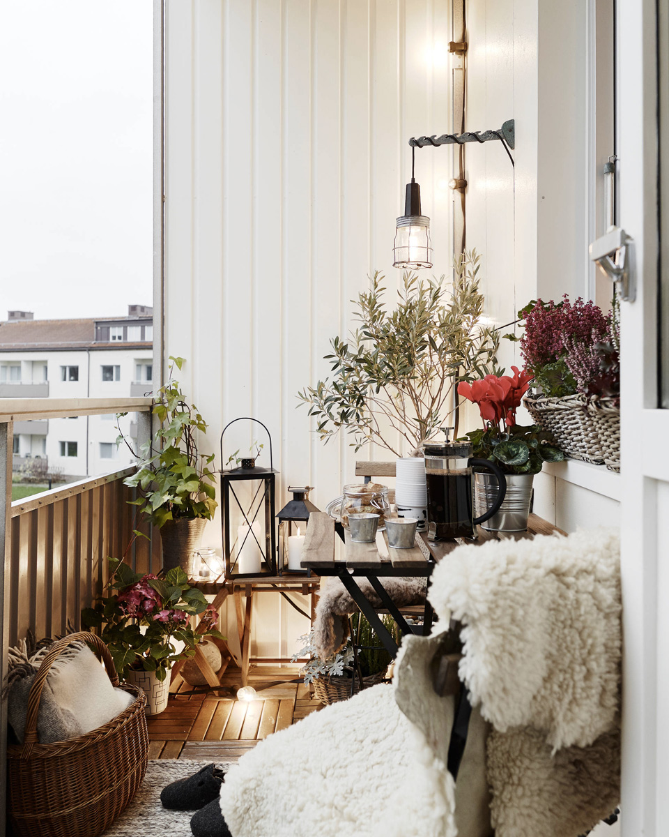 Des id es d co pour votre balcon shake my blog for Idee deco photo