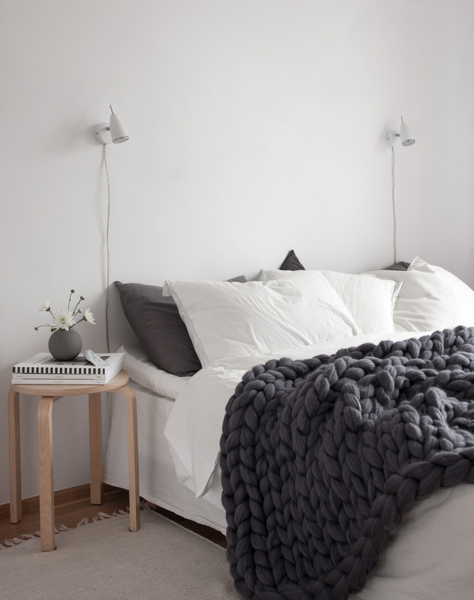 un plaid en tricot g ant xxl shake my blog. Black Bedroom Furniture Sets. Home Design Ideas