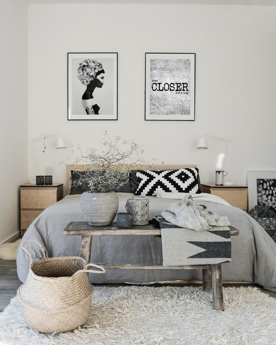 Choisir un tapis pour la d co de la chambre shake my blog for Photo de deco chambre adulte