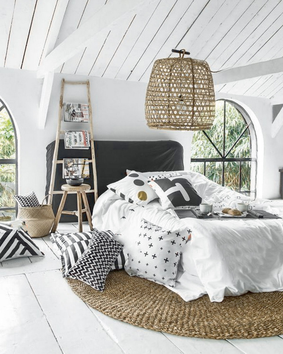 choisir un tapis pour la d co de la chambre shake my blog. Black Bedroom Furniture Sets. Home Design Ideas
