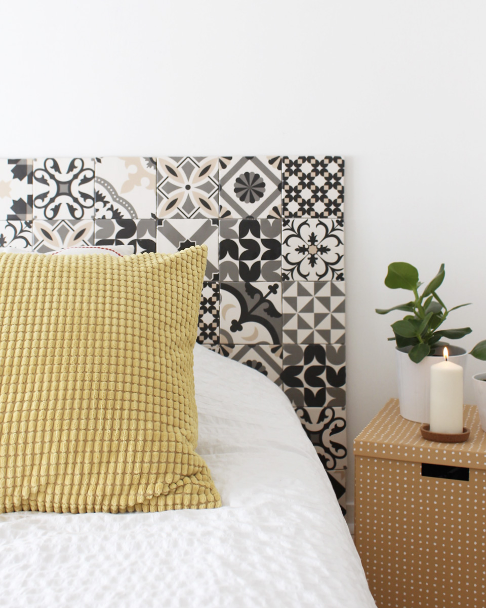 une t te de lit diy avec lapeyre shake my blog. Black Bedroom Furniture Sets. Home Design Ideas