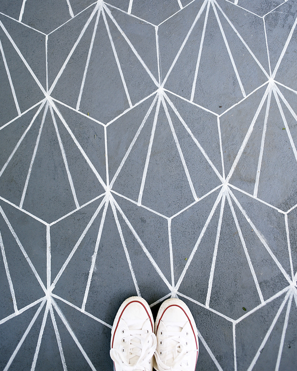 carreaux de ciment diy sol