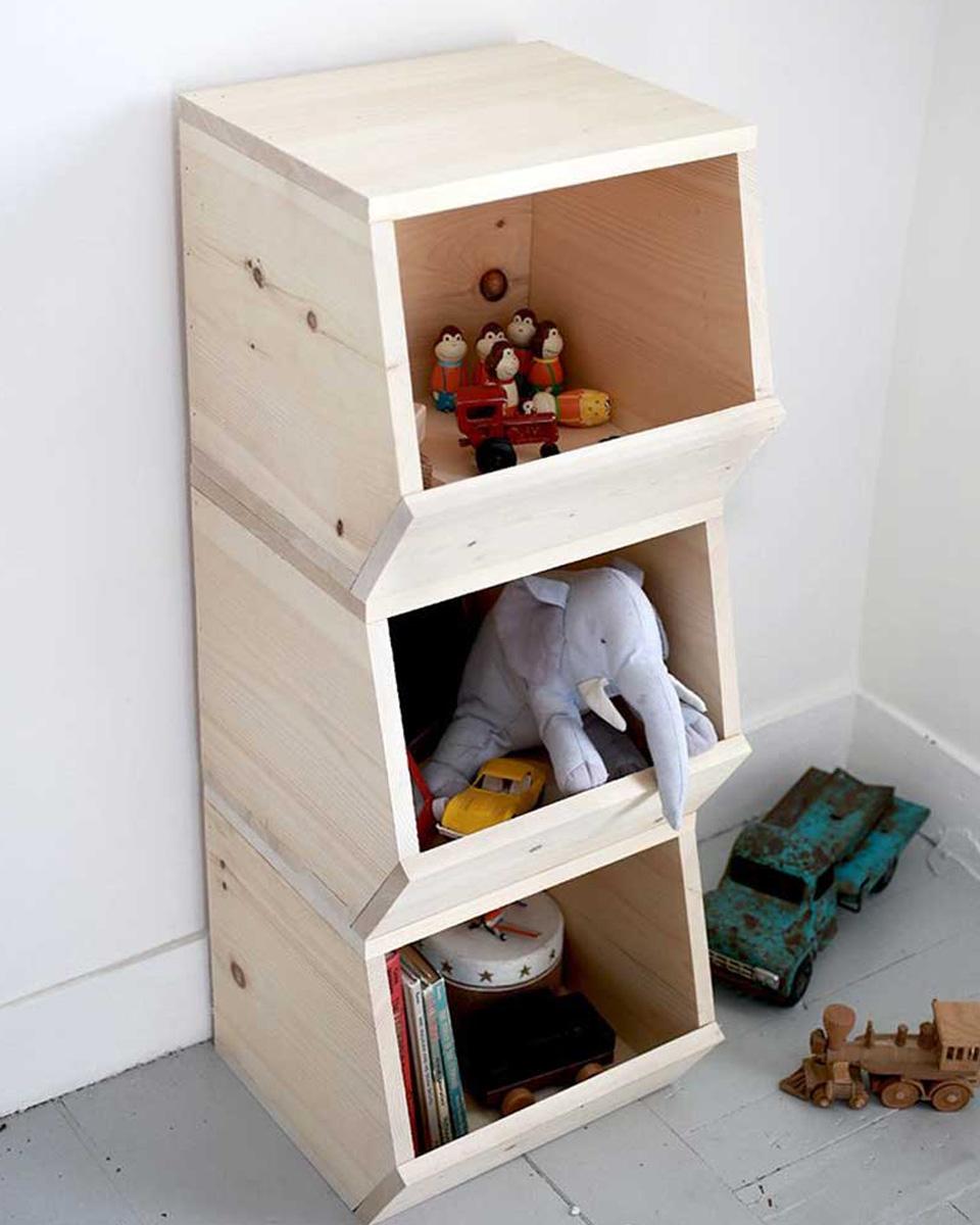 idée diy chambre enfant caisse