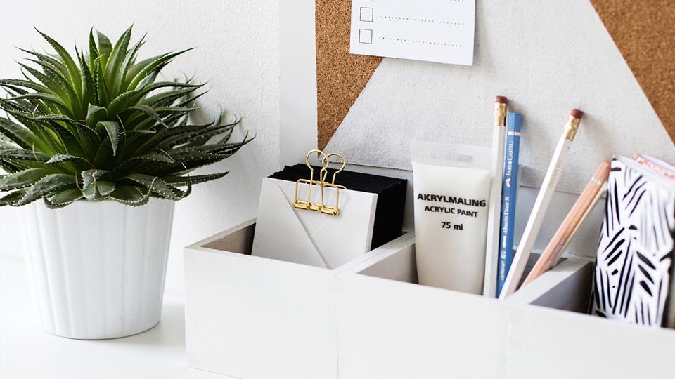 15 idées DIY pour le bureau | Shake My Blog